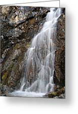 Porcupine Falls Side Chute Greeting Card