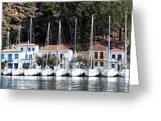 Poros Greece Greeting Card