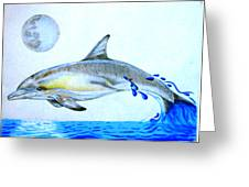Porpoise Greeting Card