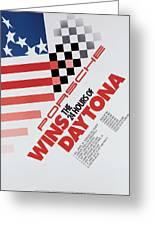 Porsche 24 Hours Of Daytona Wins Greeting Card