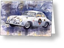 Porsche 356 Coupe Greeting Card