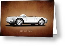 Porsche 550 Greeting Card