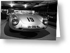 Porsche 550a Rs Greeting Card
