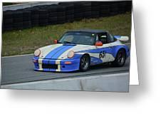 Porsche 651 Greeting Card
