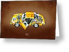 Porsche 911 1973 Greeting Card