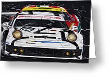 Porsche 911 Rsr Le Mans Greeting Card