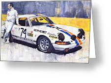 Porsche 911 Sebring 1970 Ralf Meaney Greeting Card
