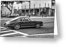 Porsche 911e Greeting Card