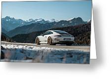 Porsche 911r Greeting Card