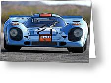 Porsche 917 Shorttail Greeting Card