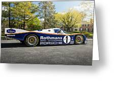 Porsche 962c Greeting Card