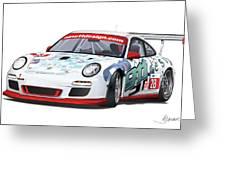 porsche 997 GT3 CUP Greeting Card