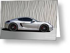 Porsche Beautiful Dream Sports Car Greeting Card