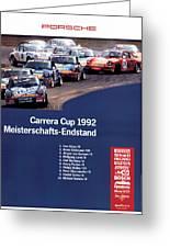 Porsche Carrera Cup 1992 Greeting Card