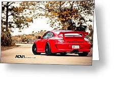 Porsche Gt3 Centerlock Adv1 3  Greeting Card