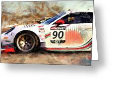 Porsche Gt3 Martini Racing - 01 Greeting Card