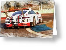 Porsche Gt3 Martini Racing - 02 Greeting Card