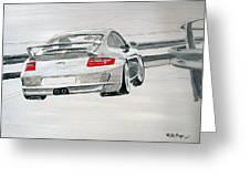 Porsche Gt3 Greeting Card