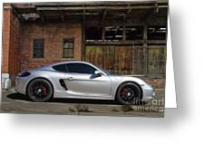 Porsche Need For Speed Greeting Card