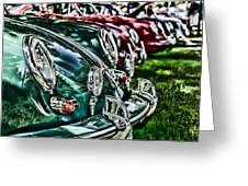 Porsche Row Greeting Card