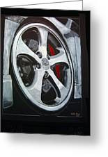 Porsche Techart Wheel Greeting Card