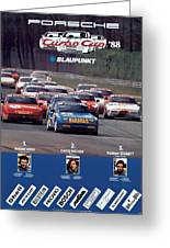 Porsche Turbo Cup 1988 Greeting Card