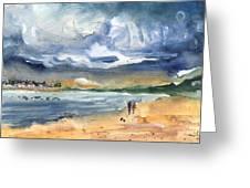 Port Alcudia Beach 03 Greeting Card