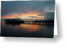Port Angeles Sunrise Greeting Card