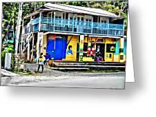 Port Antonio Greeting Card