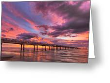 Port Aransas Texas Sunrise 25 Greeting Card