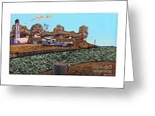 Port Burwell, Ontario Greeting Card