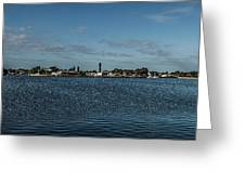 Port Charlotte Beeney Water Way From Beeney Greeting Card