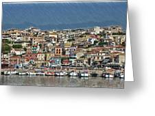 Port City Parga Greece - Dwp1163344 Greeting Card