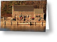 Port Clyde Life 2 Greeting Card