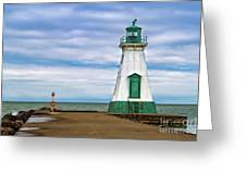 Port Dalhousie Lighthouse 1 Greeting Card