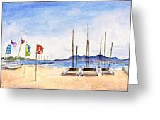 Port De Pollenca 02 Greeting Card