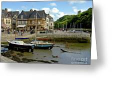 Port De St Goustan Greeting Card