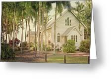 Port Douglas Beach Chapel Greeting Card