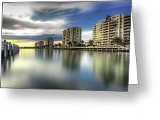 Port Melbourne Dreaming Greeting Card