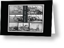 Port New Orleans Greeting Card