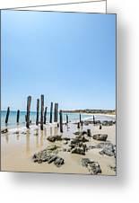 Port Noarlunga Pylons Greeting Card