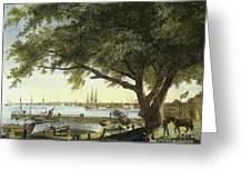 Port Of Philadelphia, 1800 Greeting Card by Granger