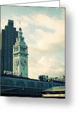 Port Of San Francisco Greeting Card
