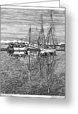 Port Orchard Marina Greeting Card