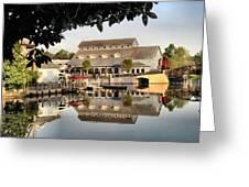Port Orleans Riverside Greeting Card