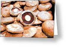 Portabello Mushrooms Greeting Card
