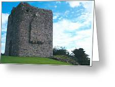 Portaferry Castle Greeting Card