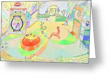 Portals And Perspectives Greeting Card