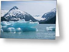 Porter Glacier Alaska II Greeting Card