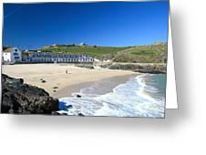 Porthgwidden Beach Greeting Card